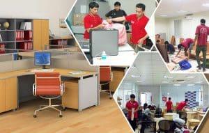 Nhân viên chúng tôi mang đến dịch vụ chuyển văn phòng chất lượng