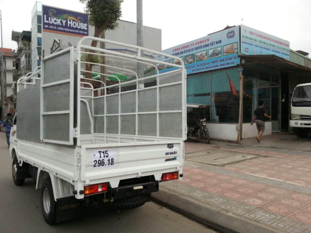 Kích thước thùng xe tải 750kg