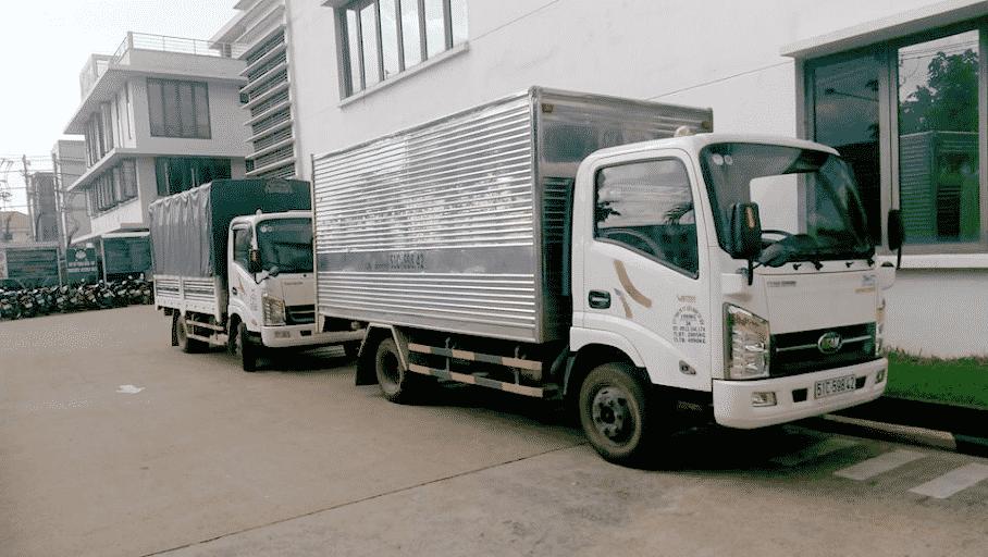 dịch vụ taxi tải vận chuyển hàng hóa