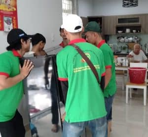Nhân viện dọn nhà tại Tân Phú
