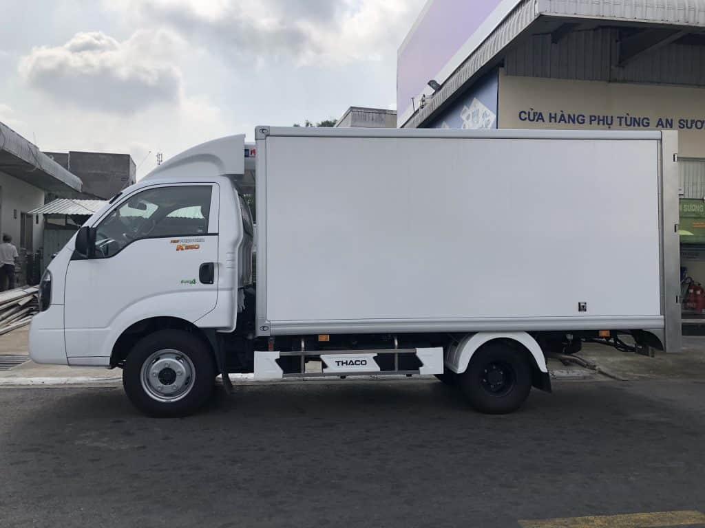 Kích thước thùng xe tải 2 tấn