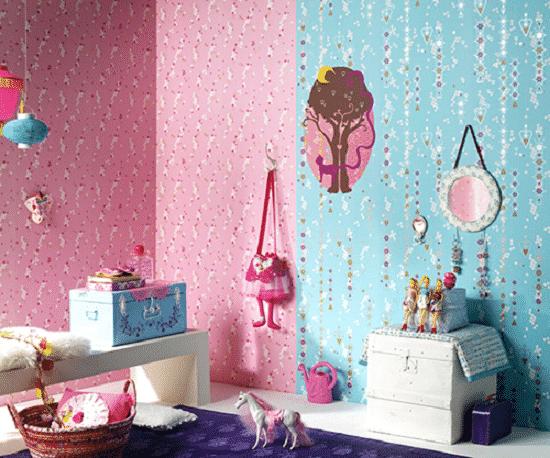 Trang trí phòng trọ bằng giấy dán tường