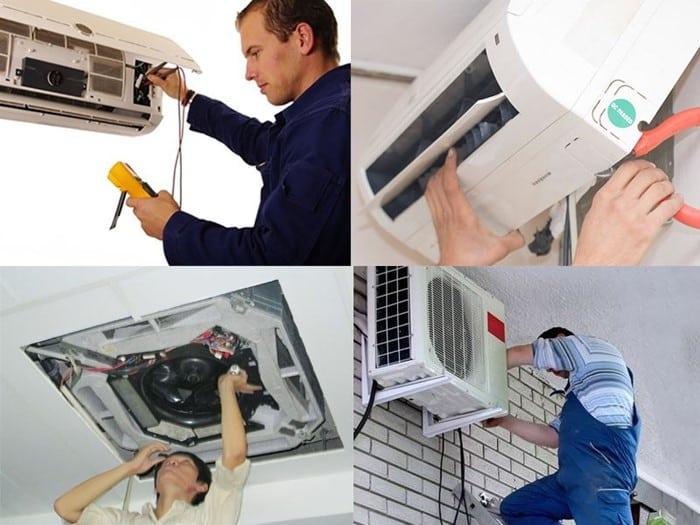 Đảm bảo ngắt điện trước khi thao tác tháo dở các thiết bị điện