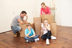 Những khó khăn khi chuyển nhà vào cuối tháng