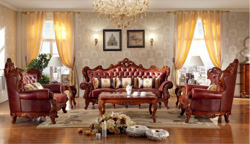 Bộ ghế sofa trong phòng khách