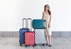 Tận dụng vali để chuyển những đồ vật nặng