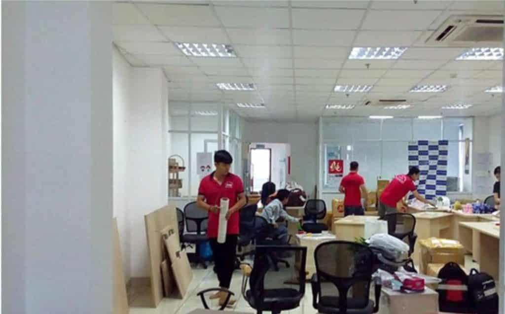 Dịch vụ chuyển văn phòng trọn gói quận 3 uy tín - chuyên nghiệp