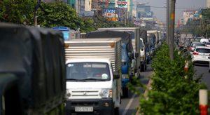 Xe tải giao hàng tại Đà Nẵng