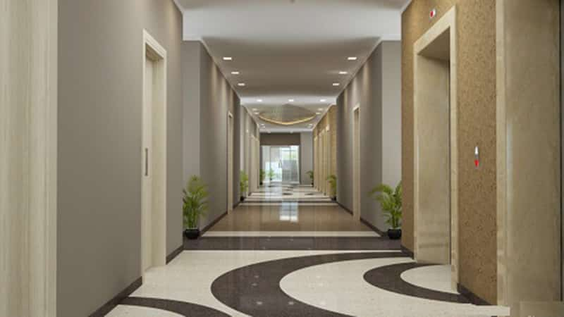Hóa giải hướng nhà chung cư có 2 cửa chính xung đối nhau