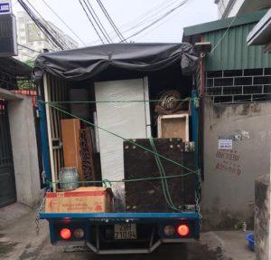 Khối lượng đồ đạc cần vận chuyển