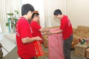 Nhân viên Dịch Vụ Dọn Nhà chuyển văn phòng chuyên nghiệp tại huyện Củ Chi