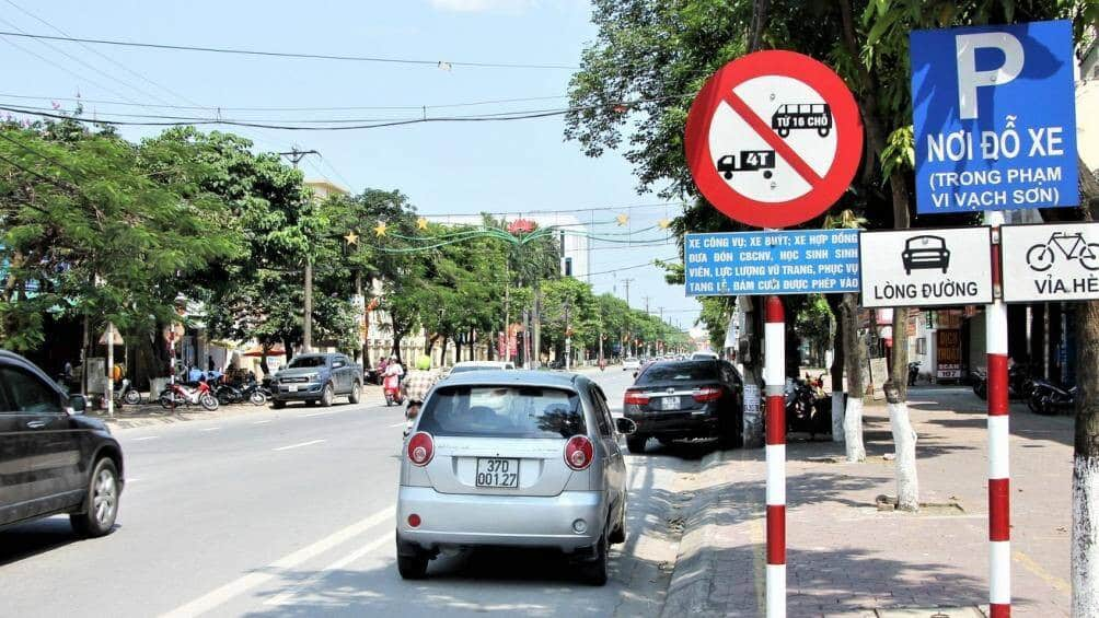 Các loại xe cấm tải trên địa bàn thành phố Hồ Chí Minh