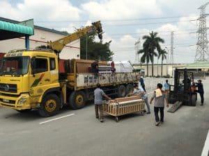 Dịch vụ cho thuê xe cẩu quận Tân Phú tphcm