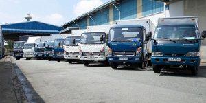 Hệ thống xe tải vận chuyển đa dạng nhiều chủng loại