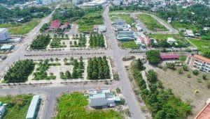 Địa hình huyện Hóc Môn