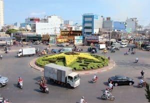 Giao thông tại quận Bình Tân luôn diễn ra phúc tạp
