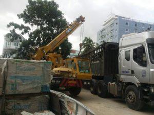 Dịch vụ cho thuê xe cẩu huyện Nhà Bè tphcm