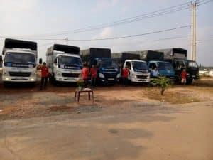 Dịch vụ cho thuê xe tải chở hàng Sài Gòn - Phú Yên