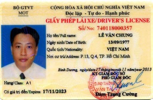 Giấy phép lái xe mới