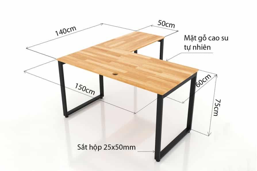 Những lưu ý khi chọn kích thước bàn làm việc theo phong thủy