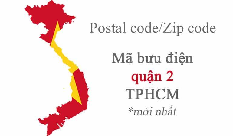 mã bưu chính quận 2 hcm