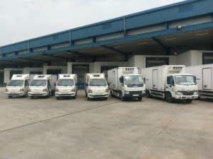 Hệ thống xe tải chở hàng từ Sài Gòn ra Quãng Ngãi