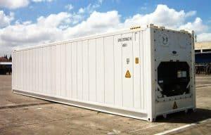 Thùng container đông lạnh