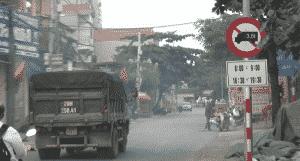 Biển cấm xe tải 106a là gì?