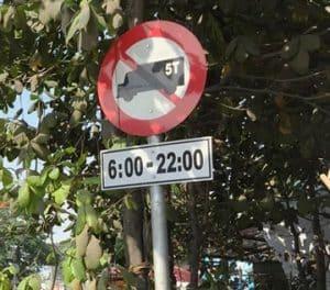 Biến cáo cấm xe tải 5 tấn