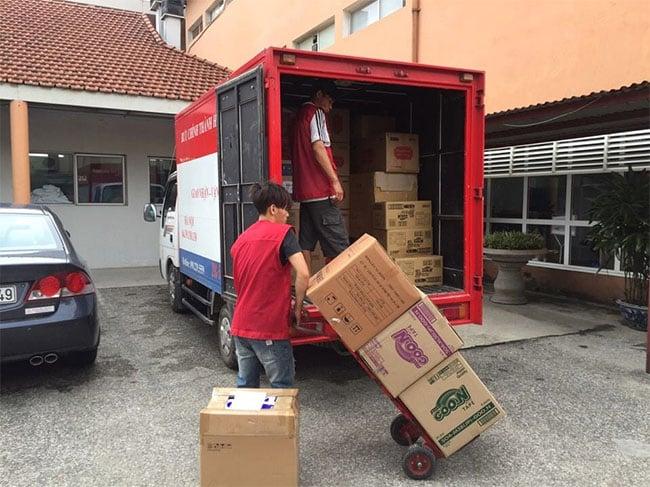 Cho thuê xe tải 500kg chở hàng hóa
