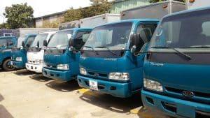 Cho thuê xe tải chở hàng giá rẻ quận 10