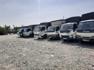 Hệ thống xe tải chở hàng đa dạng kích cỡ đáp ứng mọi nhu cầu của khách hàng