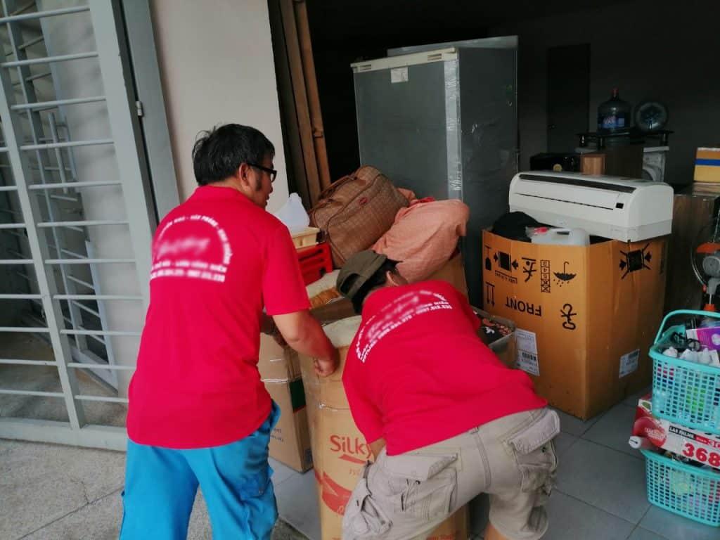 chuyển nhà trọ trọn gói dịch vụ dọn nhà