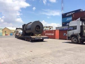 Xe chuyên dùng trong việc vận chuyển hàng siêu nặng