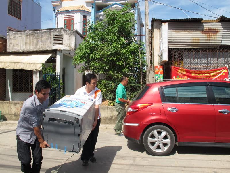 Cách vận chuyển máy giặt an toàn