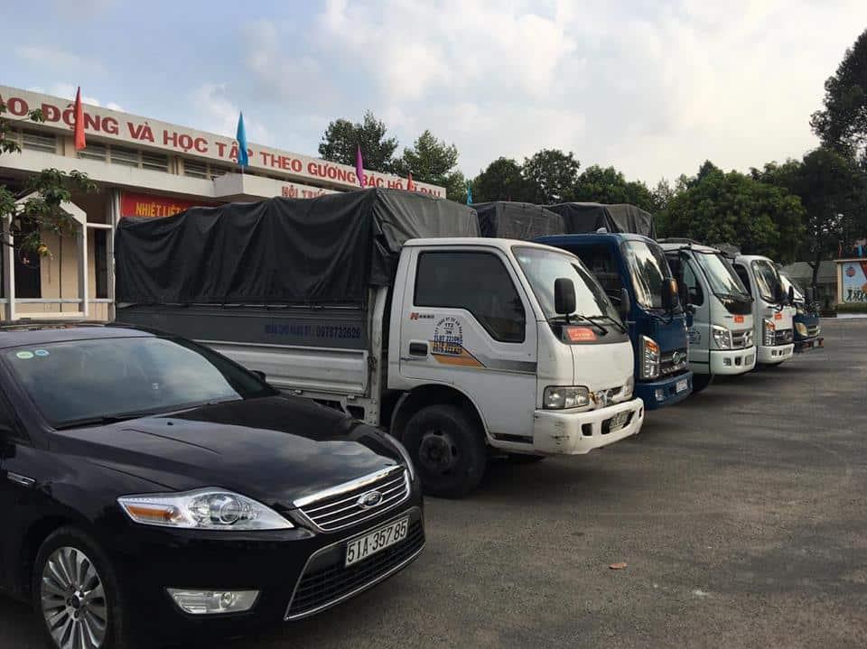 Chúng tôi sở hữu hệ thồng xe tải chất lượng