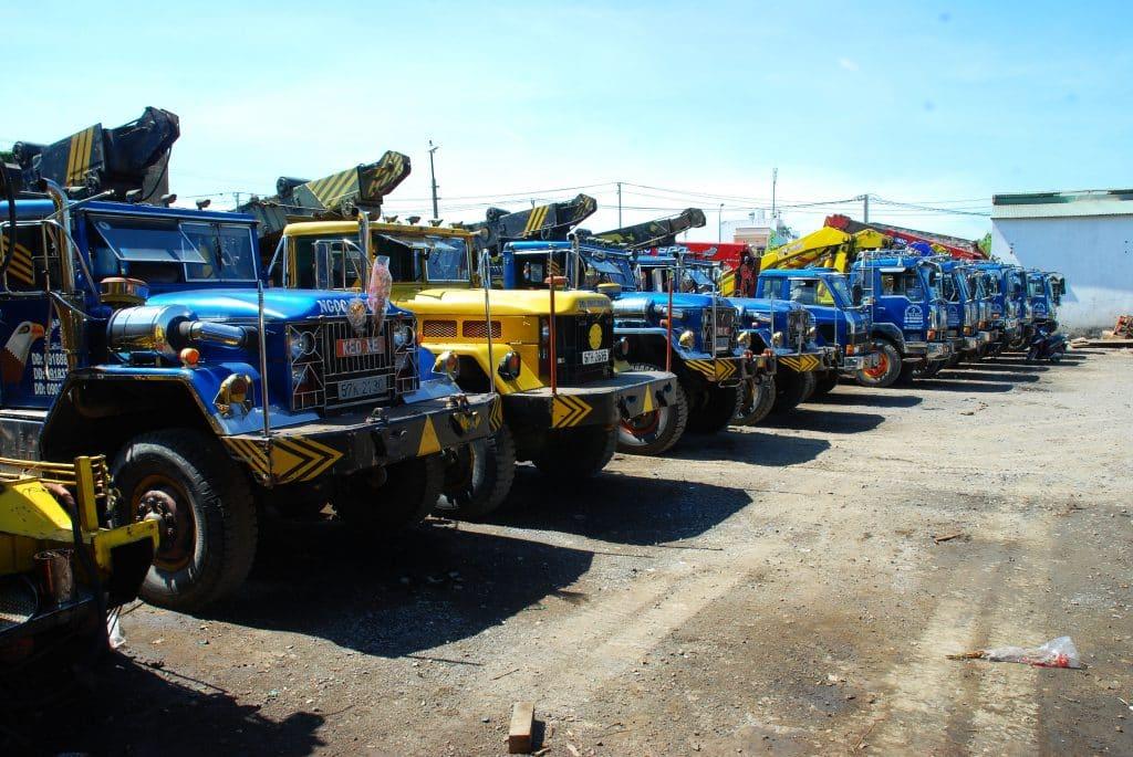 Dịch vụ cho thuê xe cẩu huyện Cần Giờ