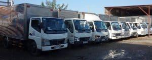 Hệ thống xe tải sẳn sàng cung cấp cho khách hàng mọi lúc mọi nơi