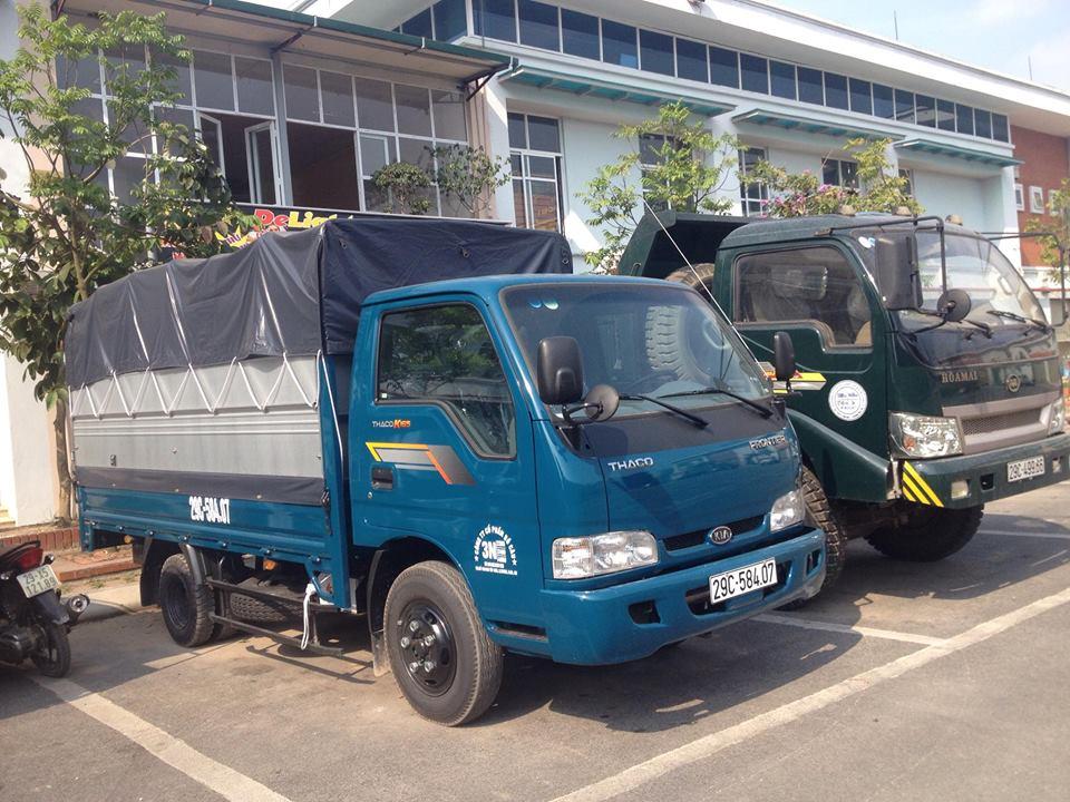 Dịch vụ cho thuê xe tải chở hàng huyện Cần Giờ