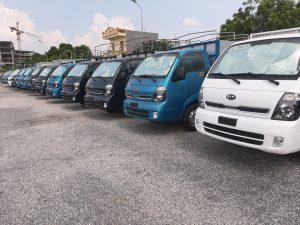 Bảng giá cho thuê xe tải tự lái theo tháng