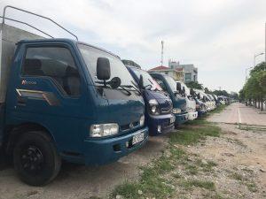 Hệ thống xe tải chất lượng tại Dịch Vụ Dọn Nhà