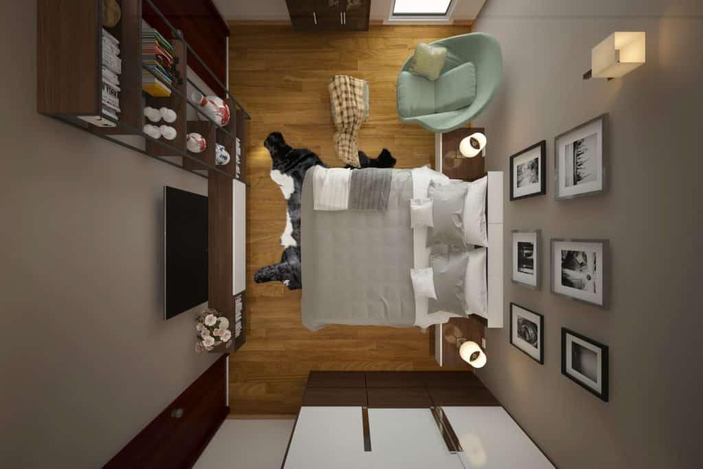 Tại sao phải bố trí giường tủ theo đúng phong thủy?