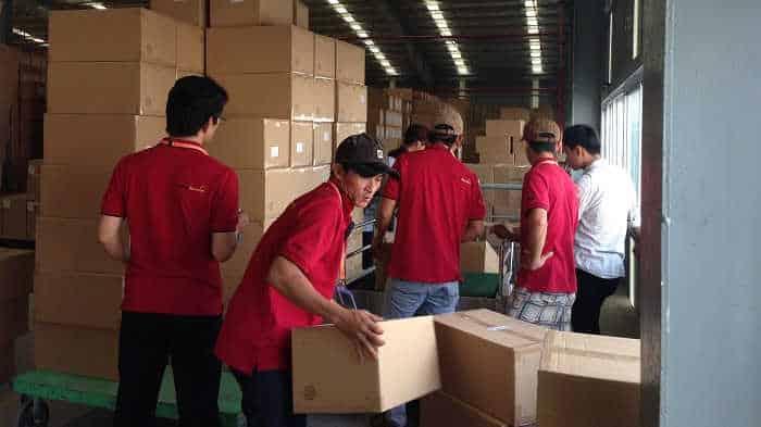 Dịch vụ chuyển văn phòng trọn gói huyện Cần Giờ