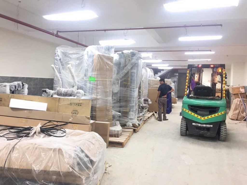 Dịch vụ chuyển kho xưởng trọn gói quận 8