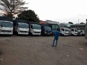 Hệ thống xe tải vận chuyển nhà trọ đa kích cỡ