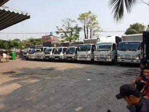 Hệ thống xe tải chở hàng đa kích thước, trọng tải