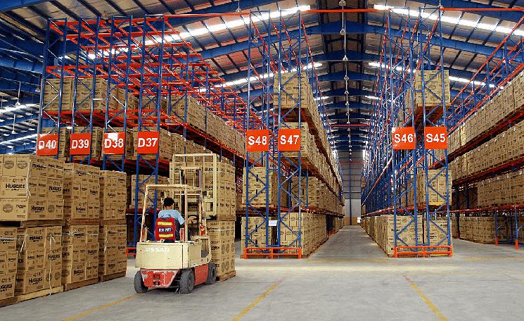 Hệ thống nhà kho an ninh, chất lượng đảm bảo hàng hóa của khách hàng