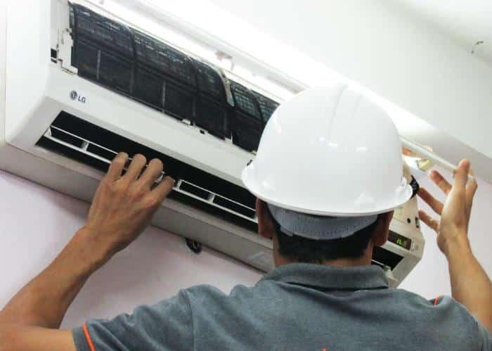Dịch vụ vụ tháo lắp di dời máy lạnh huyện cần giờ