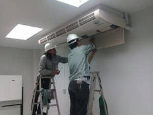 Dịch vụ tháo lắp di dời máy lạnh giá rẻ huyện Bình Chánh - Dịch Vụ Dọn Nhà