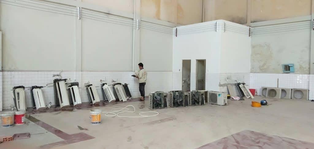 Tháo lắp, di dời máy lạnh giá rẻ Tân Phú